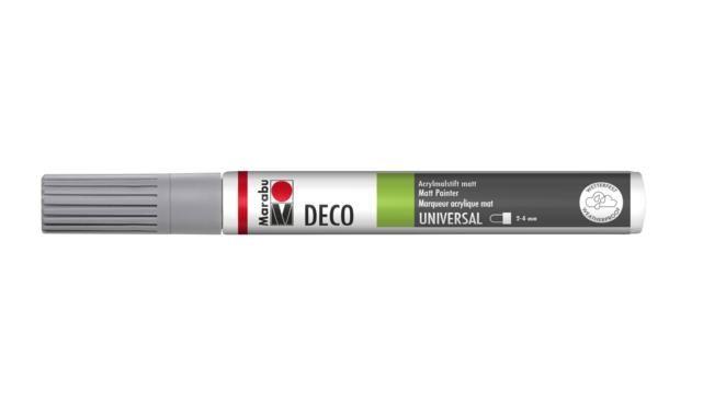 Marker Deco 3-4mm 078 grey