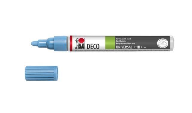 Marker Deco 3-4mm 256 pastel blue