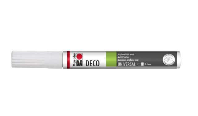 Marker Deco 3-4mm 070 white