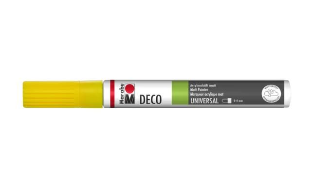 Marker Deco 3-4mm 220 sunshine yellow
