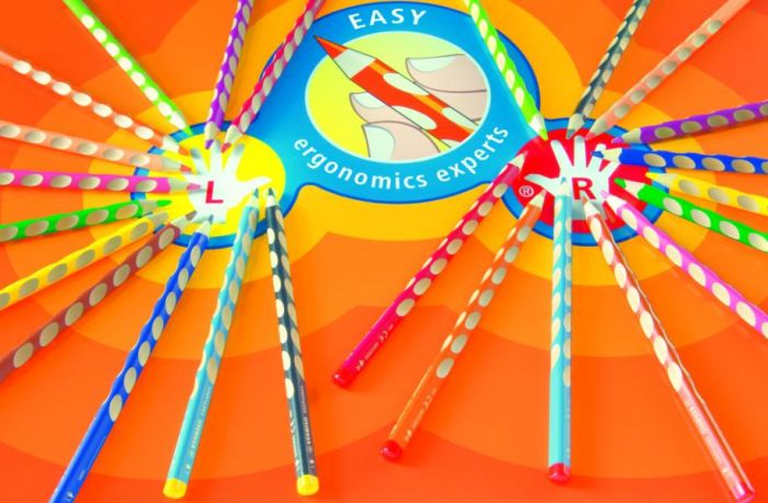 Värvipliiats Stabilo EASYcolors,6 värvi,vasakkäsi