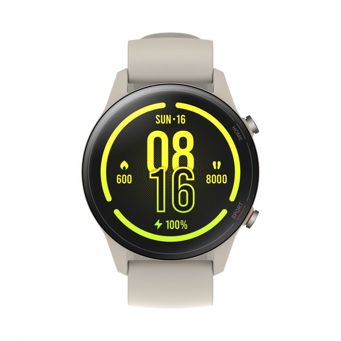 Xiaomi Watch Mi 1.39, Smart watches, GPS (satellite), AMOLED, Touchscreen, Heart rate monitor, Activity monitoring Supports 17 professional workout modes, Waterproof, Bluetooth, Beige