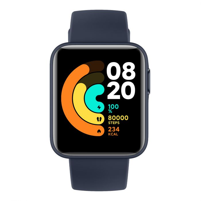 Xiaomi Mi Watch Lite 1.4, Fitness tracker, GPS (satellite), Color TFT, Touchscreen, Heart rate monitor, Activity monitoring Yes, Waterproof, Bluetooth, Navy blue