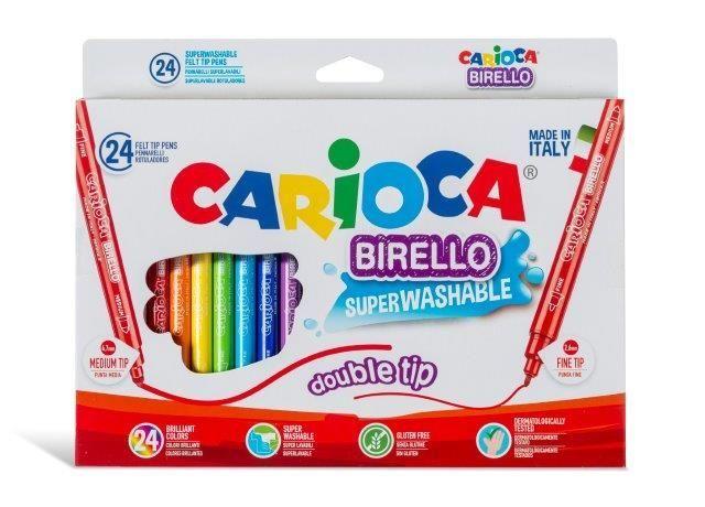 Viltpliiatsid CARIOCA BIRELLO 2 otsaga