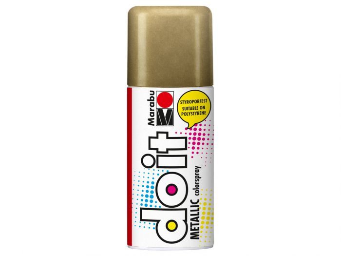 Aerosoolvärv do it Metallic 150ml 784 gold