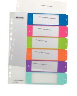 K0064588_1_Registrilehed_1_kuni_6_varviline_plast_Leitz_A4_Maxi_245x305mm_WOW_Colour