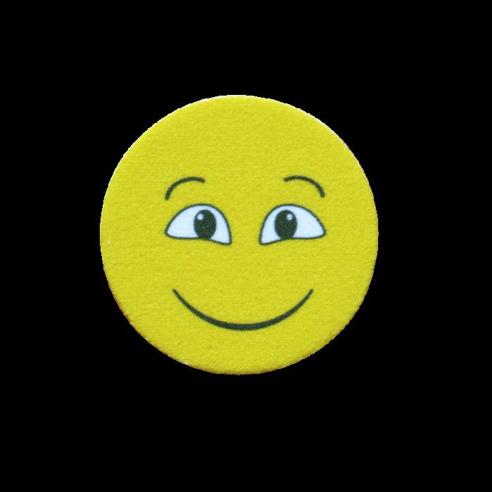 Puhastuslapp Õnnelik nägu (EMOJI HAPPY)  d 30mm