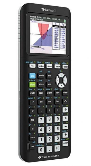 Graafikakalkulaator TI-84 Plus CE-T, värviline 2,8` ekraan, USB-link, 30 Apps, ROM 3MB/RAM 154KB