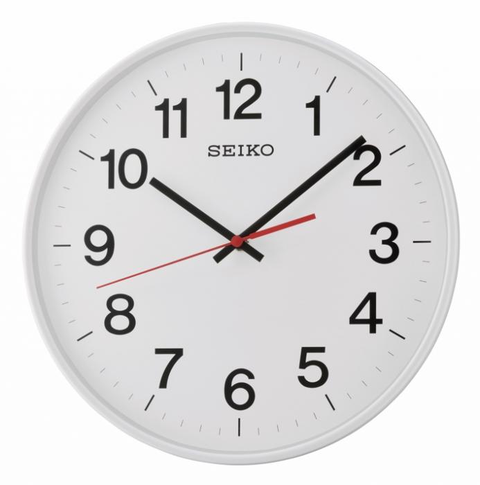 Seinakell Seiko QXA701H, valge 29,5cm