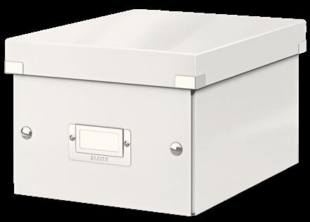 Karp A5 kokkupandav, Leitz C&S Small 220x160 x282mm WOW, valge,lamineeritud kartong