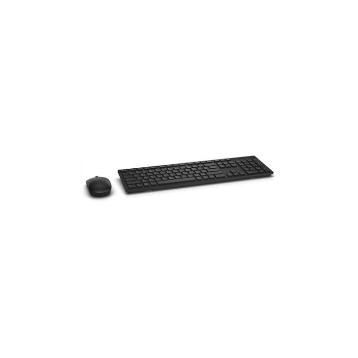 Klaviatuur+hiir Dell KM636 Wireless Multimedia Keyboard & Mouse Pan-Nordic (QWERTY) Black/must 2xAAA ja 2xAA patareid 1YW