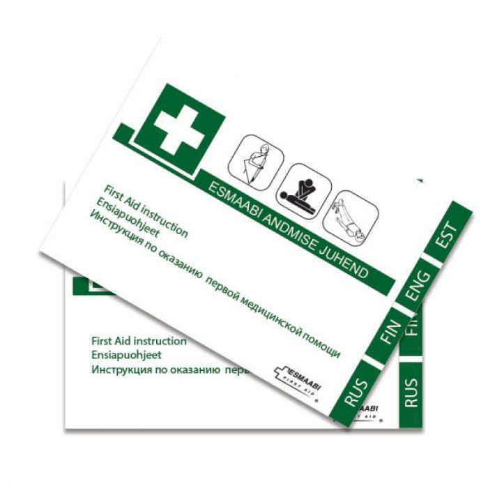 Esmaabi andmise juhend First Aid