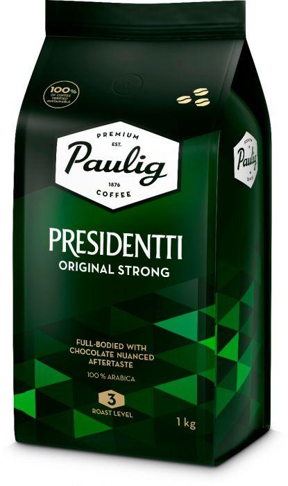 Kohvioad Paulig Presidentti Original Strong 1kg