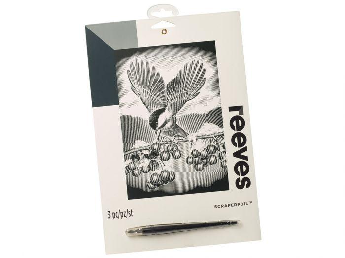 Kraapeplaat Reeves Silver Branca Bird
