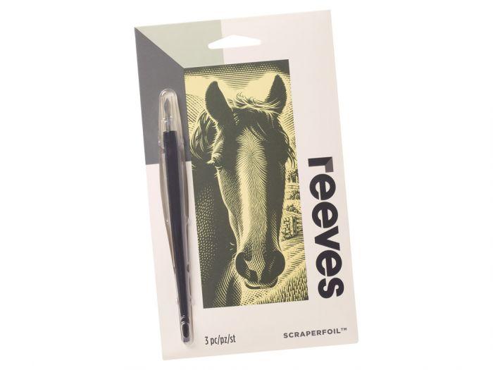 Kraapeplaat Reeves mini Gold Horse
