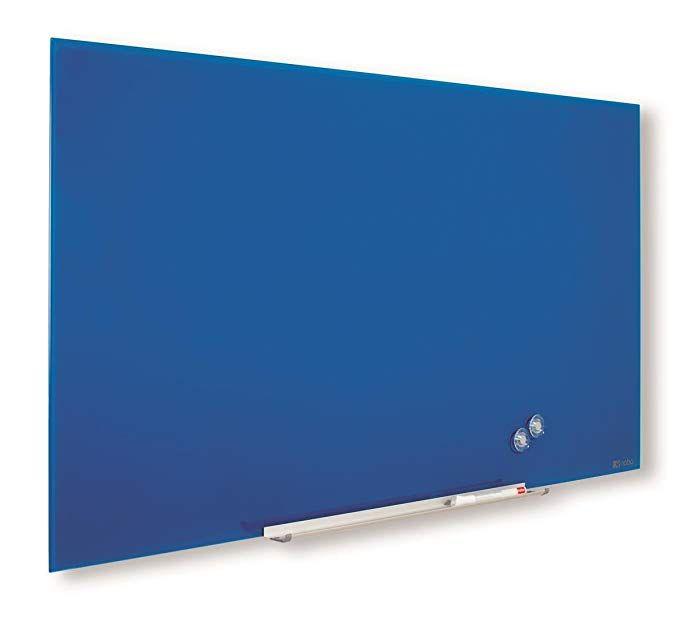 Klaastahvel NOBO Impression Pro Widescreen Glass Blue 57