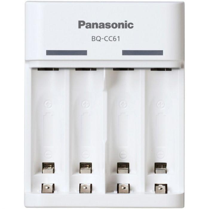 7d507f2ab29 Akulaadija Panasonic eneloop laadija BQ-CC61USB - laetav USB-pesa kaudu 2x  4x AA/AAA NiMH kuni 10h