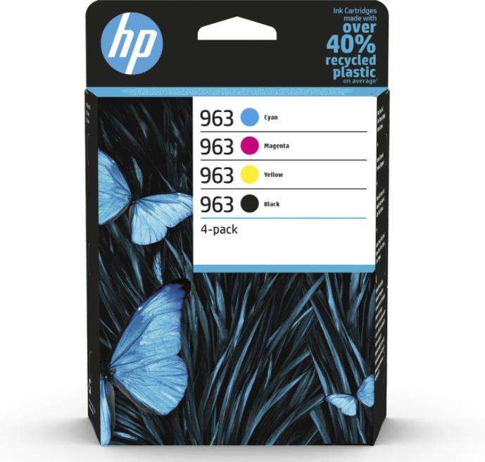 Tint HP 3YP35AE 963 väike komplekt CMYK OfficeJet Pro 9010/ 9012/ 9013/ 9014/ 9015/ 9016/ 9018/ 9019 9020/ 9022/ 9023/ 9025/ 9028