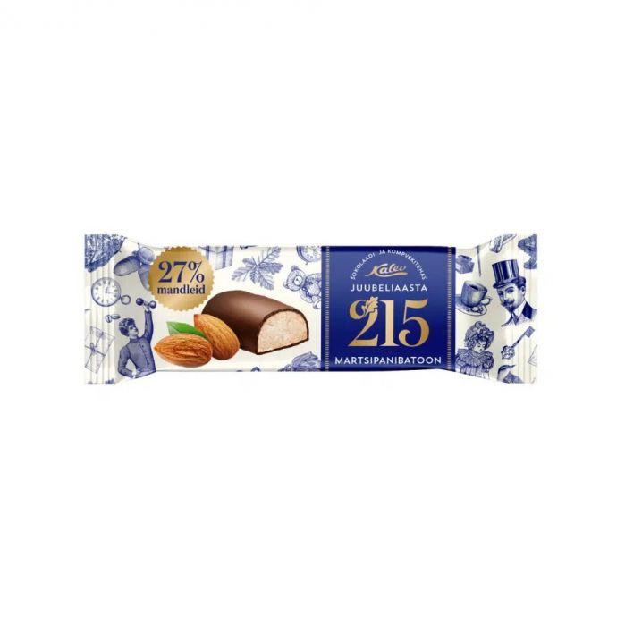 Martsipanibatoon shokolaadis 215 juubeliaasta, KALEV, 40g