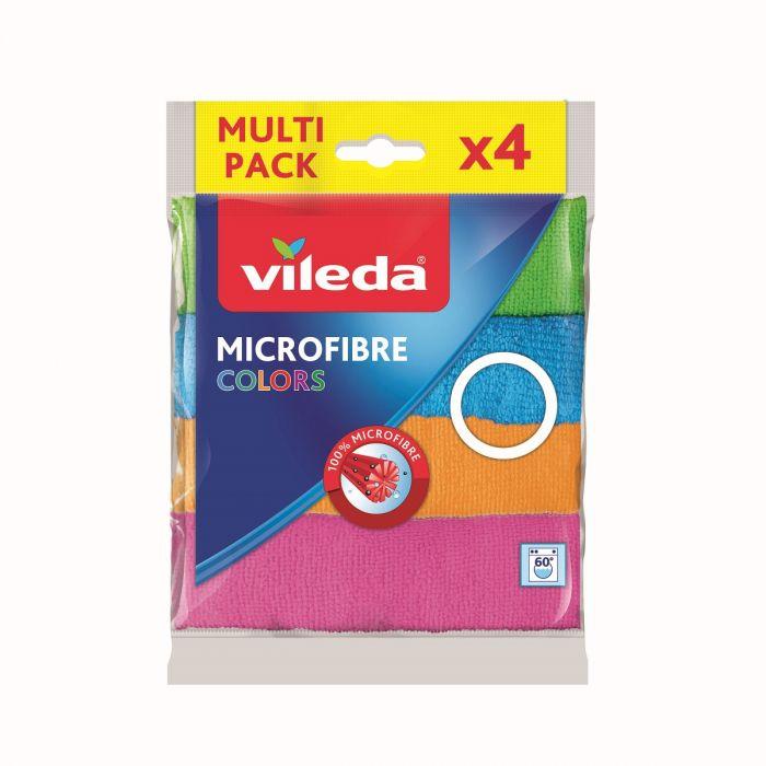 Mikrofiiber puhastuslapid VILEDA multi-pakk 4tk/pk