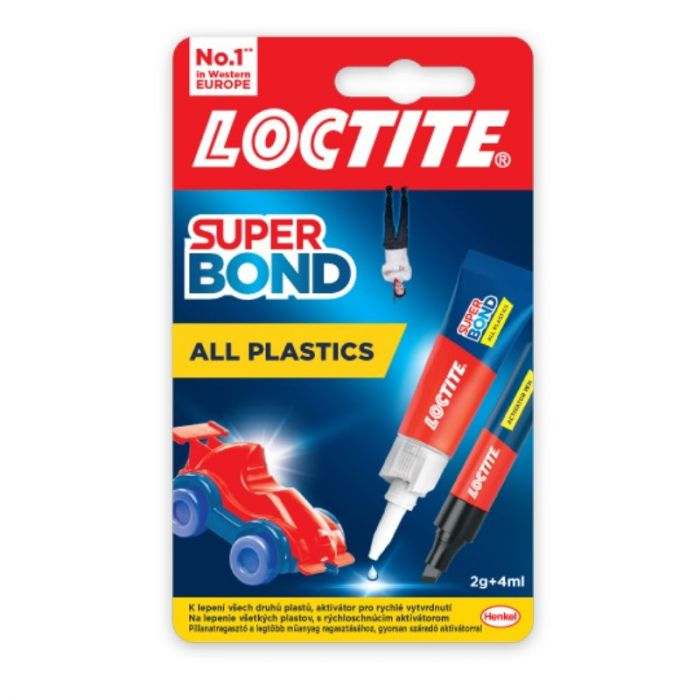Liim Loctite SuperBond All Plastics 2g+4ml