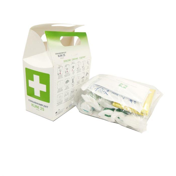 82146609e35 Esmaabikomplekt ettevõttele täitepakend minigrip kotis (kuni 25 töötaja)