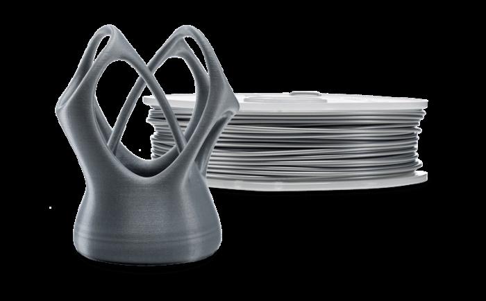 PLA filament Ultimaker 3D-printerile, NFC, hõbemetallik