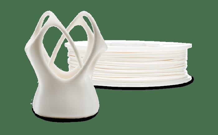 PLA filament Ultimaker 3D-printerile, NFC, valge