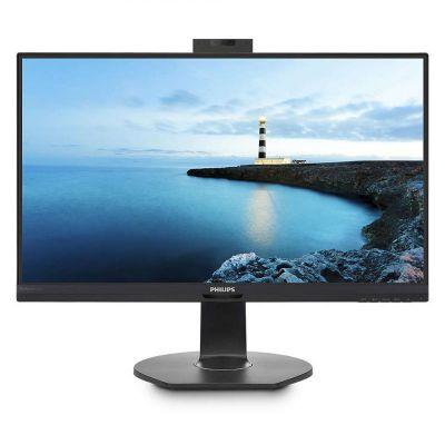"""Monitor Philips B Line 272B7QUBHEB 27"""" LED 2560 x 1440 QHD  IPS 350cd/m² 1000:1 5ms HDMI, DisplayPort, USB-C - speakers - black texture"""