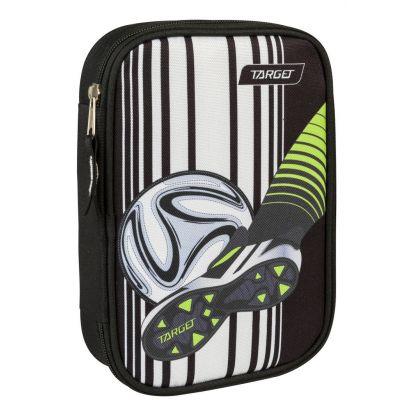 Pinal suur Target Jalgpall must, komplekteeritud FILA kirjutusvahenditega