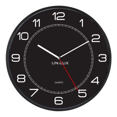 UNILUX MEGA CLOCK, BLACK