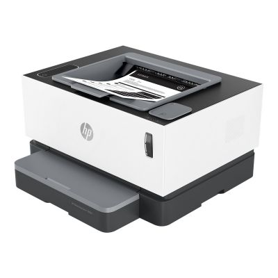 Laserprinter HP NeverStop 1000a must-valge laser A4 - 600x600dpi - 20lk/min - USB 2.0