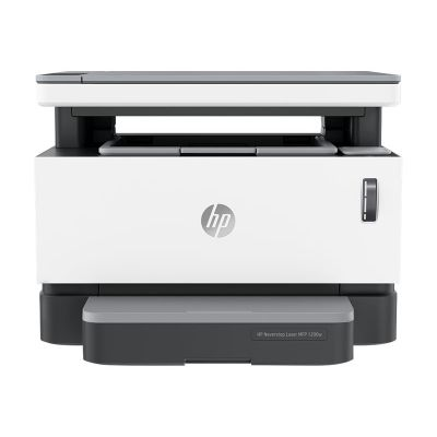 Kontorikombain HP NeverStop 1200n must-valge laser - A4 - 600x600dpi - 20lk/min - USB 2.0, Lan