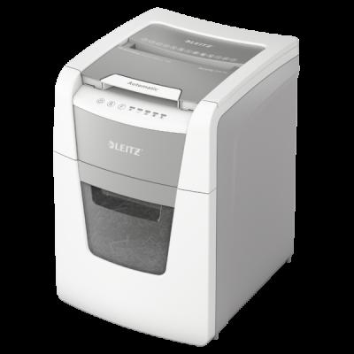 Paberipurustaja Leitz IQ AutoFeed SmallOffice100 - P4(400tk - 4x20mm) - Automaatne paberisöötja kuni 100 A4 lehele