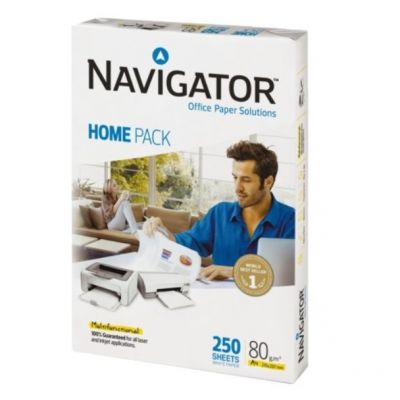 Koopiapaber A4 80g Navigator Home 250lehte/pk väikepakk