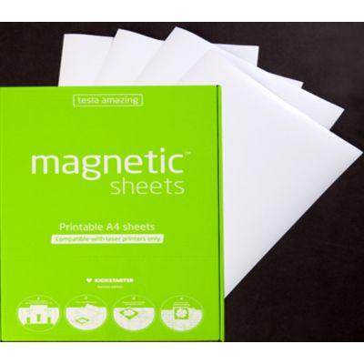 Kile elektrostaatiline Magnetic Sheets, A4, 15 lehte, valge, laserprinterile