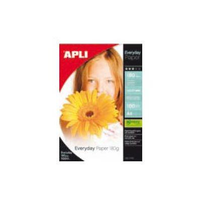 Fotopaber APLI A4 Everyday Paper 180g, glossy,100 lehte pakis