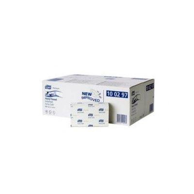Lehträtik Tork H2 Xpress Multifold eriti pehme valge 2-kihiline, 100 lehte/pk (lehe mõõt 21,2x34cm)