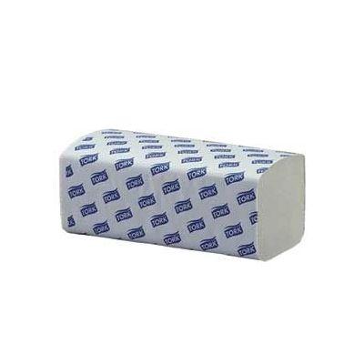 Lehträtik Tork H3 Singlefold pehme valge  2-kihiline, 250 lehte/pk (lehe mõõt 22,6x23cm)