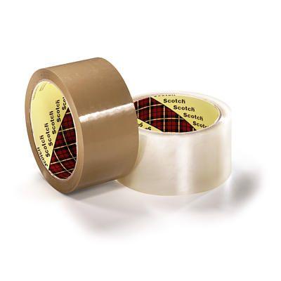 Pakketeip Scotch 309 läbipaistev 50mm x 66m Low Noise
