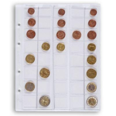 Vaheleht müntidele Optima euro 308740, 5 lehte pakis, Leuchtturm