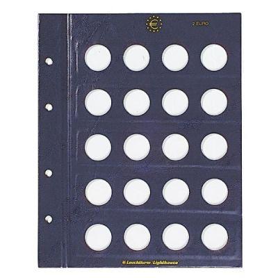 Vaheleht mündialbumile Vista 2eurot  312494, 2 lehte pakis, Leuchtturm