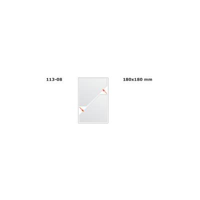 Kiletasku iseliimuv kolmnurktasku 180x180 2tklehel, 1leht