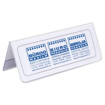 Infoalus lauale 1x 080-200 mm, A kujuline/ läbipaistev