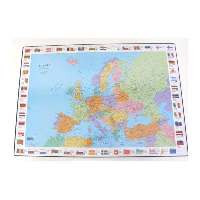 Lauamatt 630x440mm Euroopa kaart Bantex