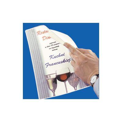 Lamineerimiskile kleebitava seljaga A4 125mic (pakis 100 kile) O-Pouch Sticky Adhesive