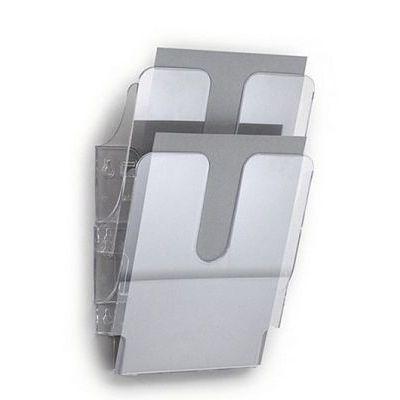Seinasahtel Flexiplus A4 läbipaistev 2-ne komplekt, vertikaalne,Durable