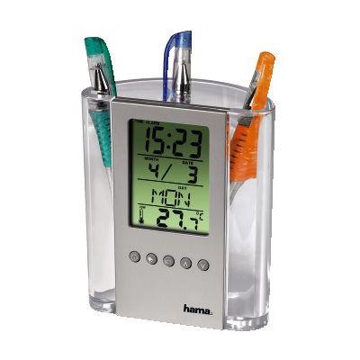 Pliiatsitops Hama, kell, kuupäev, nädalapäev, termomeeter, (patarei 2 x LR1130)