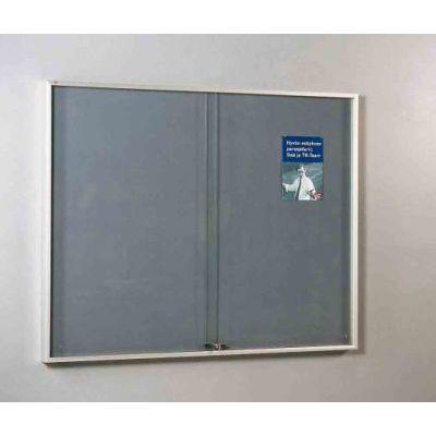 Teadetetahvlikapp karastatud  klaasiga 341000/lina1005x1205x65mm, lukk