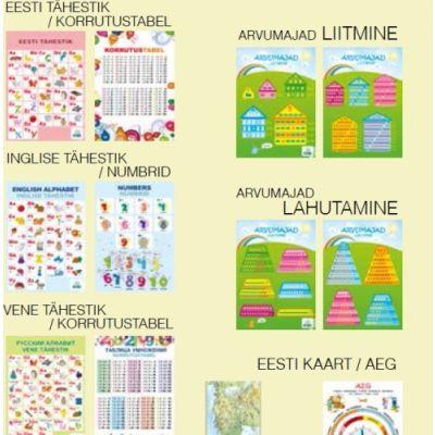 Kooli õppevahendite komplekt A4